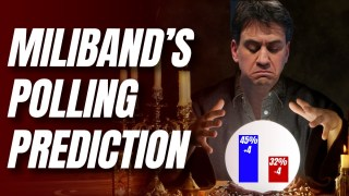 Miliband's Unfortunately-Timed Polling Prediction