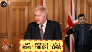 Boris on Harry and Meghan: No Comment