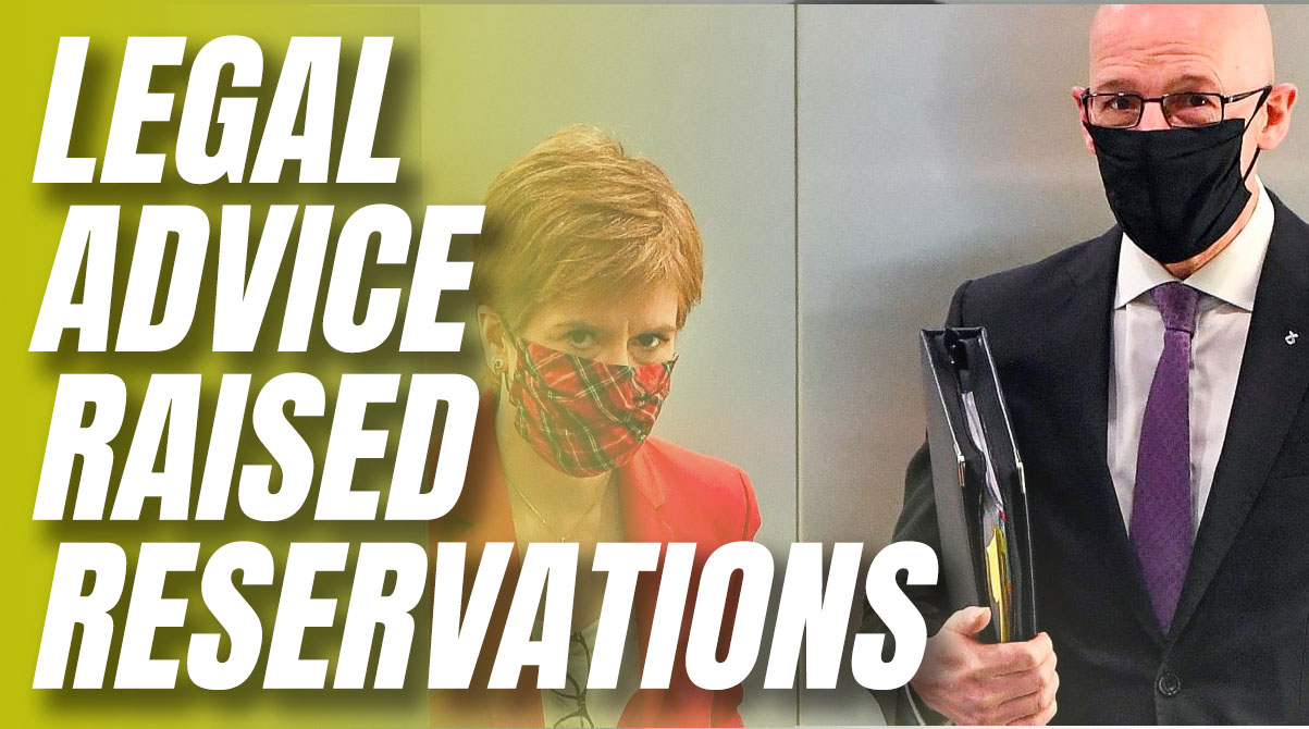 "Swinney Admits Salmond Legal Advice Raised Case ""Reservations"""