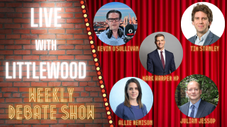 TONIGHT AT 6PM LIVE with LITTLEWOOD