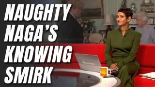 WATCH: Naga Implies Naughty Hancock Joke