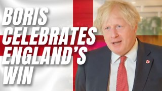 """WATCH: Boris Congratulates England, Says a Bank Holiday Would Be """"Tempting Fate"""""""