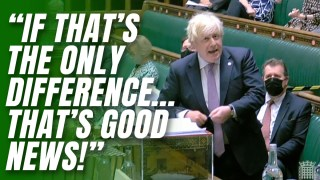 Boris Mocks Starmer's Ambiguous Opposition to Freedom Day