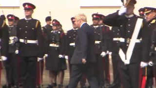 Sandhurst Welcomes Darth Boris