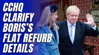 CCHQ Confirm Exact Cost of Boris's No. 10 Flat Refurbishment Loan