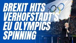 Desperate Verhofstadt's Remainer Olympics Spinning