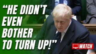Defensive Boris Attacks Starmer's Afghanistan No-Show
