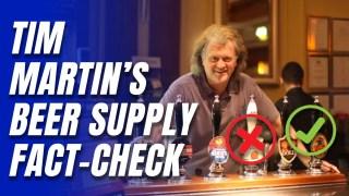 Tim Martin Says Wetherspoons Beer Shortage Stories Were Partisan Fake News