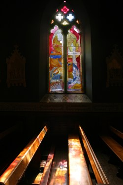 Wakenshaw Memorial Window. Cathedral Church of St Mary Newcastle Cate Watkinson (1)
