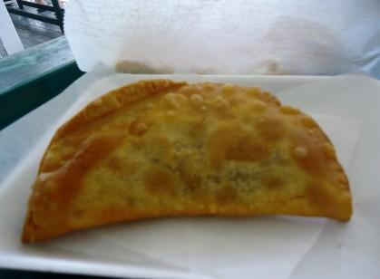 Beef empanada at Ana's Cuban Café