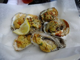 Oyster Duo: Rockefeller and Royale at Royal House