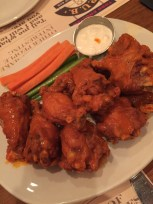 Spicy Crispy Chicken Wings at Todd English P.U.B.