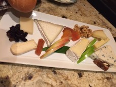 Cheese plate at Petrossian Bar at Bellagio