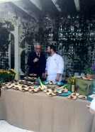 Chef Geoffrey Zakarian with Mike Price of The Clam NYC