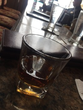 Kentucky bourbon poured at the Lobby Bar at the Brown Hotel