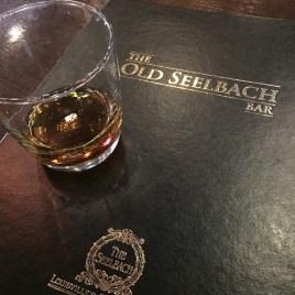 Maker's Mark Cask Strength bourbon at the Old Seelbach Bar