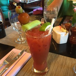 Bloody Mary at J. Graham's Cafe at the Brown Hotel