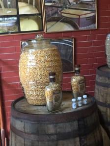 Four Roses distillery tour