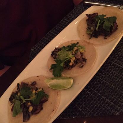 Huitlacoche Tacos at MXDC Cocina Mexicana