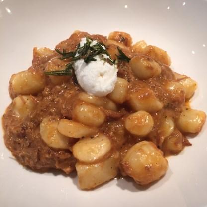 Potato Gnocchi at Graffiato by Mike Isabella