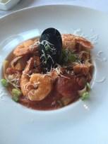 Seafood Fettuccine at Il Cielo