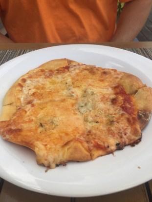 Quattro Formaggi Pizza at Dino's