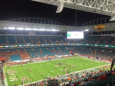 FSU vs UM at Hard Rock Stadium in Miami