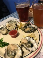 West Coast oysters at Emmett Watson's Oyster Bar in Seattle, WA