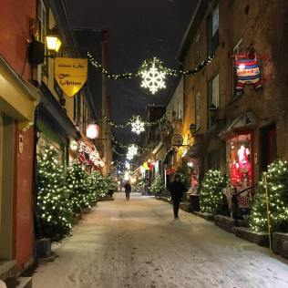 Rue du Petit Champlain, Québec City.