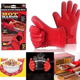 Hot Hands Silicone Cooking Gloves