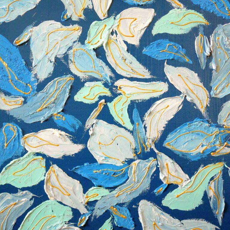 波打つ花弁
