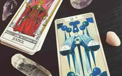 Adjustment Tarot meaning and Justice