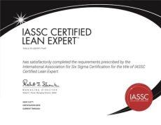 Lean Expert Certification Exam