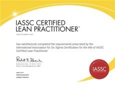 Lean Practitioner Certification Exam