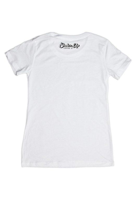 Womens White Tees, Womens White T-Shirt