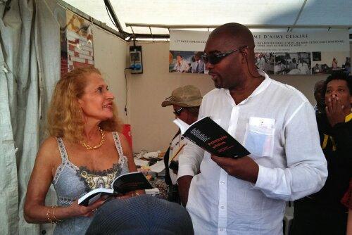 Marché de la Poésie – Promolecture – Suzanne Dracius