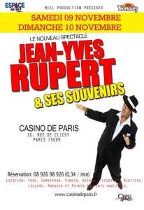 Jean-Yves Rupert et ses Souvenirs