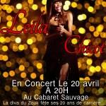 Leila - Cabaret Sauvage