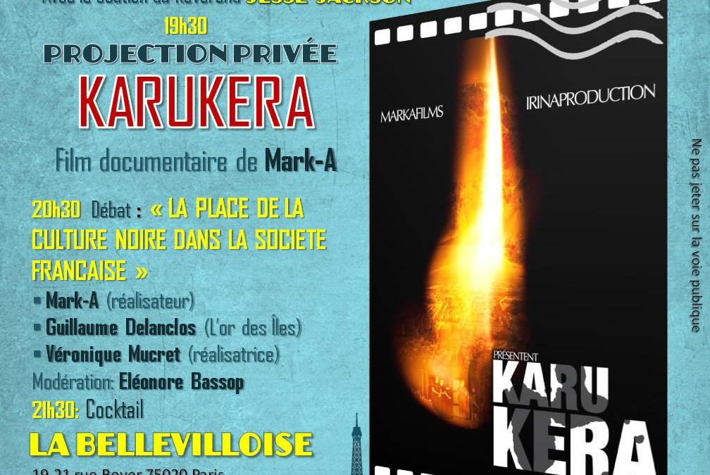 Projection du film «Karukera» et Débat
