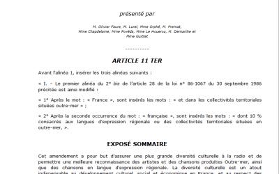 Communiqué de Presse conjoint du CRAN et de L'Or des Iles
