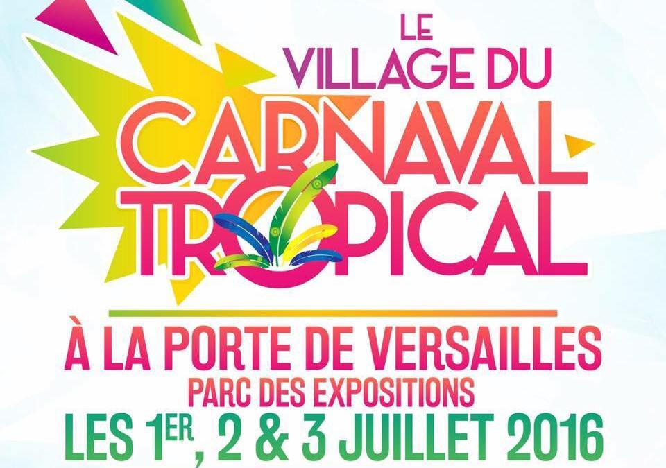 Le village du Carnaval Tropical 2016