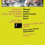 L'orchestre Symphonique de Tallin