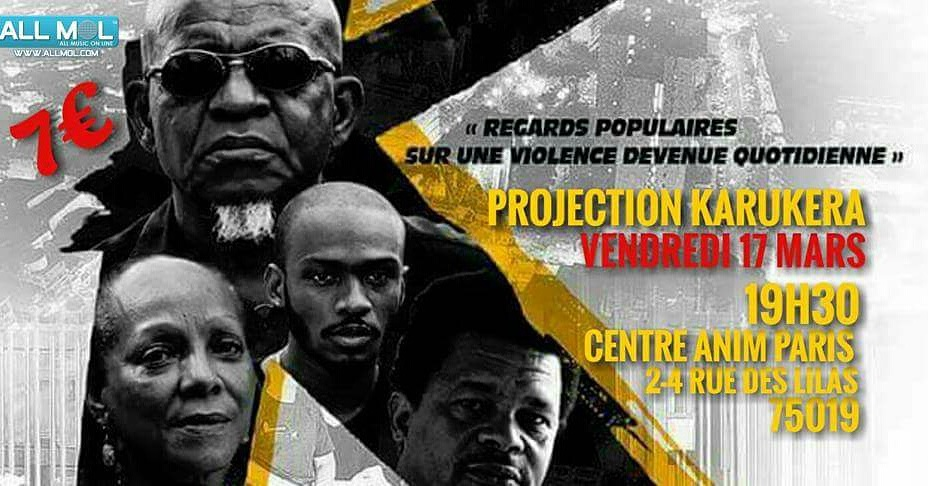 Projection du film documentaire Karukera – Paris