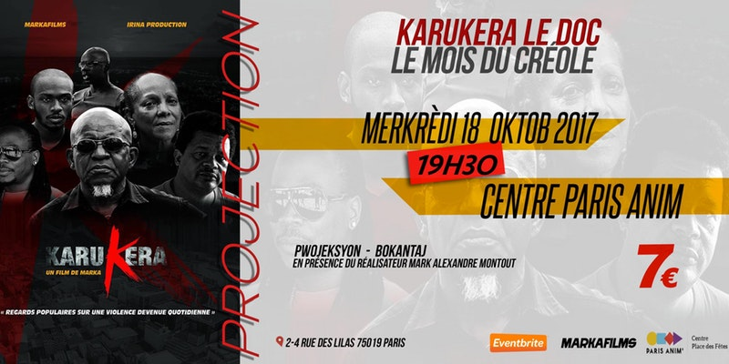 Mois du Créole – Documentaire Karukera