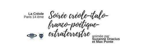 Soirée créole-italo-franco-poétique-extraterrestre