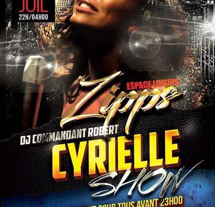 Concert – Cyrielle au Zipps