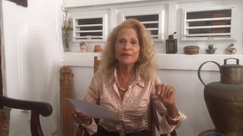 Interview – Dé mó, kat pawol – en confinement – Suzanne DRACIUS