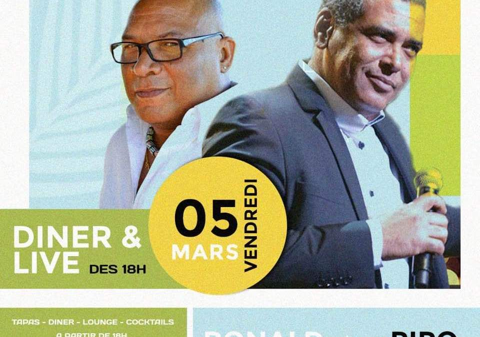 Concert – Ronald Tulle et Pipo Gertrude au Red Corner