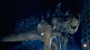 Roland Emmerich's version fra 1998 hverken ligner eller opfører sig som Godzilla.