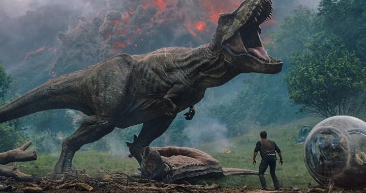 Jurassic World: Fallen Kingdom (2018) var en af de film, der genoplivede en af de franchises, vi lærte at kende tilbage i 1990'erne. (Foto: UIP)